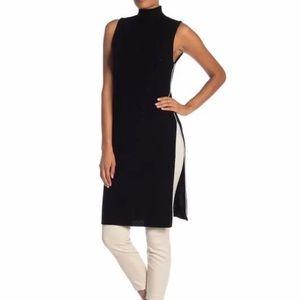 Alice & Olivia Stori Double Slit Sweater Dress NEW